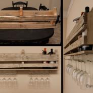 DIY: Wine Rack with Stemware Storage