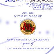 Graphics: Class Reunion Invitation