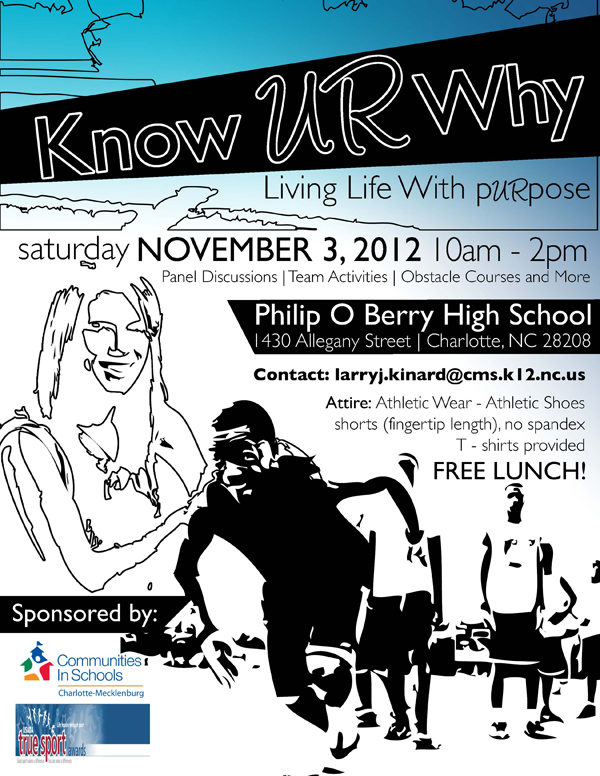 Graphic Design: Know UR Why Flyer