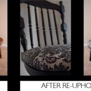 DIY: Dining Room Chair Reupholstry